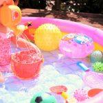 遊びと保育|集団、風船、ふれあい、ボール、正月(餅つき)、運動、水遊び