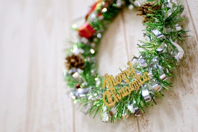 クリスマス保育園飾り