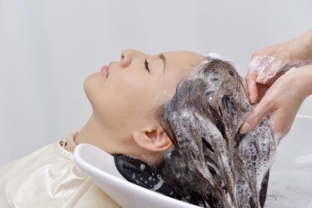 洗髪の看護